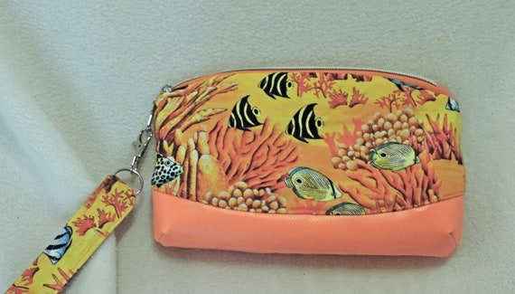 coral reef bag, summer clutch, coastal purse, beach purse, resort wear, vacation clutch