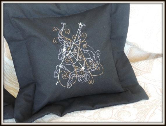 zodiac decor, Astrology pillows, zodiac pillows, celestial gift, celestial decor, couple pillows, zodiac couple gift, horoscope wedding gift
