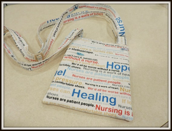 nurse crossbody bag, nurse word art bag, gift for nurse, nursing student gift, nurse thank you gift, nurse appreciation gift