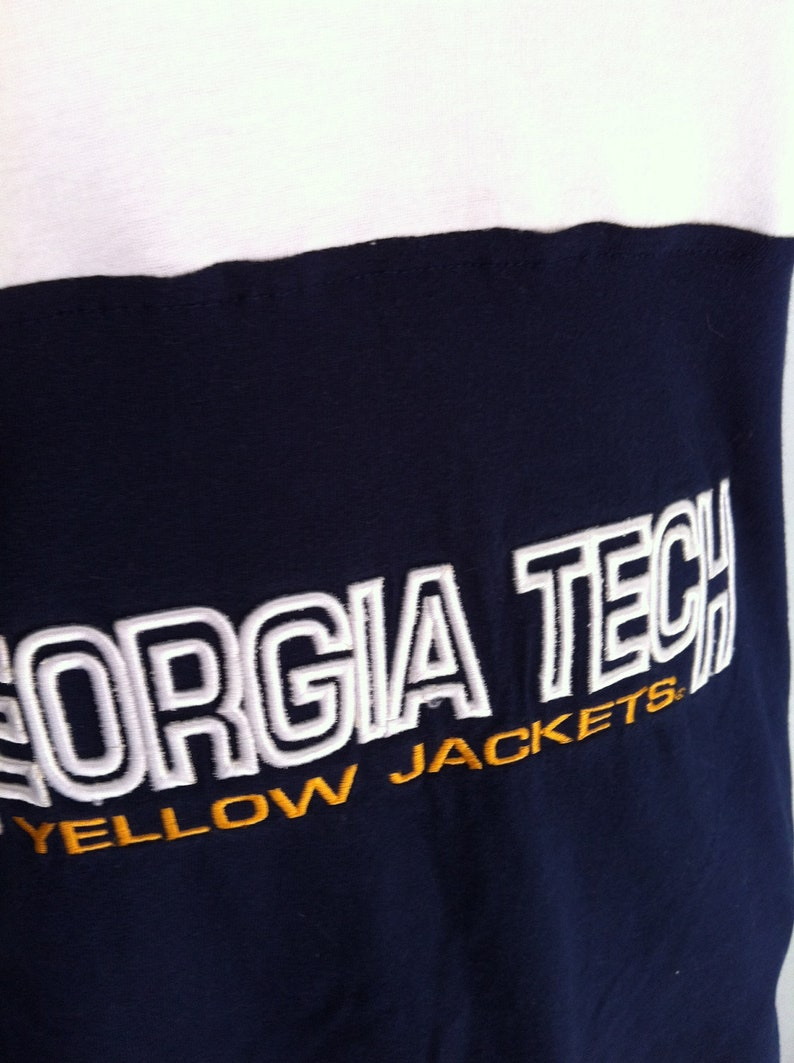 XLarge One of a Kind Gameday Halter Top made w Georgia Tech Tshirt On Sale and Free Shipping