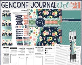 OCTOBER 2021 General Conference Journal, General Conference Study Journal, General Conference Printables, NOTEBOOK - Instant Download