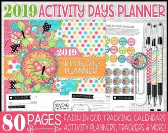activity planner etsy