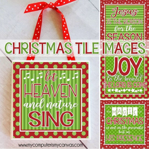 Christmas Party Gift Ideas.Christmas Tile Art Christmas Gift Ideas Christmas Printables Christmas Sayings Christian Christmas Craft Printable Instant Download