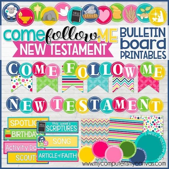 2019 Come Follow Me PRIMARY Bulletin Board Kit NEW