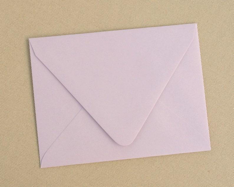 Lavender Envelopes  Set of 20 Light Purple Envelopes