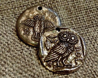 Butterfly Button Fastener From Green Girl Studio/'s Jewelry Grade Lead Free Pewter