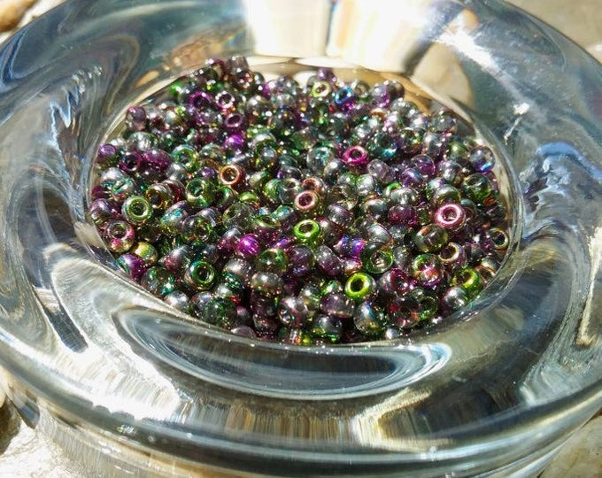 Matsuno, Seed Beads, 8/0, Rocaille, 4520, Magic Orchid, 3 Inch tube per bag, Priced per tube