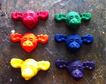 Moose crayons