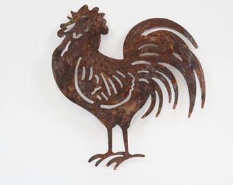 Rooster Wall Art,Rustic Kitchen Sign,Farmhouse Rooster Decor,Rustic Kitchen  Decor,Rooster Wall Decor,Country Kitchen,Farmhouse Wall Decor