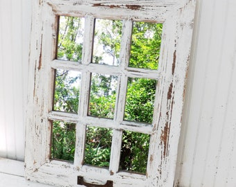 Rustic Wall Decor,Rusyic Wall Mirror,Farmhouse Wall Decor