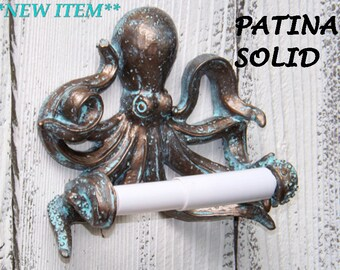 Octopus Toilet Paper Holder~Beach Bathroom,Nautical,Octopus Gift