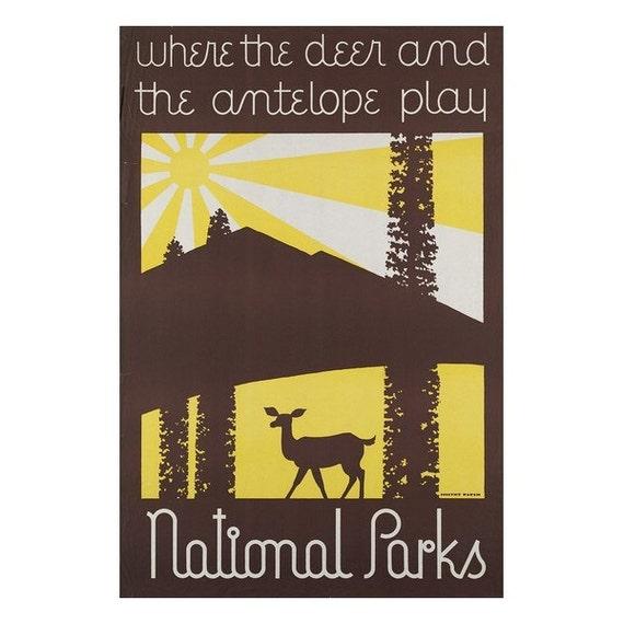 Parcs nationaux 10 s - en cuir Journal / carnet de croquis - Art voyage