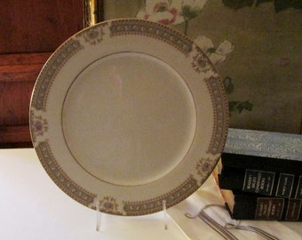 Vintage Mikasa Richelieu Dinner Plate, Ivory China, Vintage Wedding China, Elegant Dining