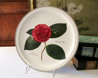Villeroy & Boch Camellia Plate, Decorative Wall Plate, Floral Wall Gallery, Gift for Gardener, Mother's Day Gift, Decorative Plate