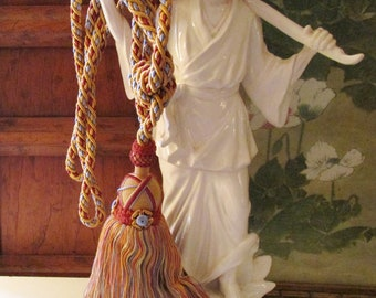 Houlès, Paris Drapery Tieback Tassel, Made in France, Passementerie  Drapery Tassel , Vintage French Chateau Decor, Single Tie Back