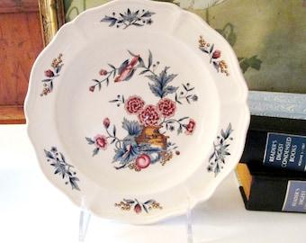 """Vintage Wedgwood """"Potpourri"""" Rim Soup Bowl, Chinoiserie Soup Bowl,"""