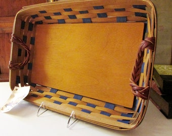 Vintage Longaberger Basket Tray