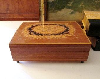 Vintage Italy Music Box