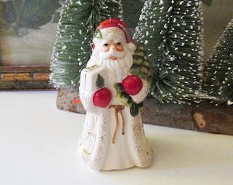 Spode Christmas Tree Santa Ornament,