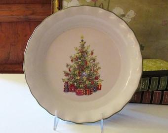 Christopher Radko Holiday Celebrations Pie Baking Dish,