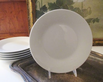 """Four Vintage Noritake """"Snowville"""" Plates, Small Plates, Bread and Butter Plates, Modernist 1960's Appetizer Plates"""