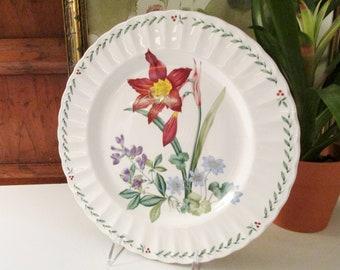 """Mikasa """"Summer Symphony"""", Mikasa Maxima, Garden Plate, Alfresco Dining, Pretty Summer Plate, Garden Party Decor"""
