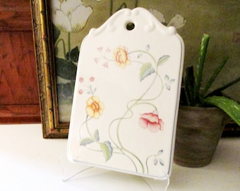 Villeroy & Boch Breakfast Tray, Albertina, Cheese And Cracker Board, French Country, Farmhouse Chic, English Country