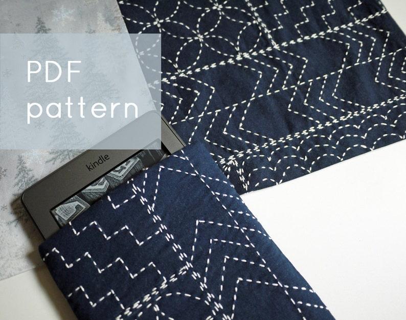 sashiko sampler   modern embroidery pattern image 0