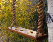 Wooden Rope Tree Swing - Made in USA