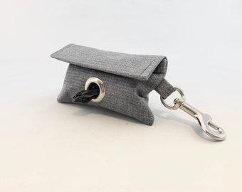 Poop Bag Holder · Dog Bag Holder · Dog Poop Bag Holder · Gray Poop Bag · Dog Owner Gift · Poop Bag Dispenser · Gray Poop Bag Holder ·