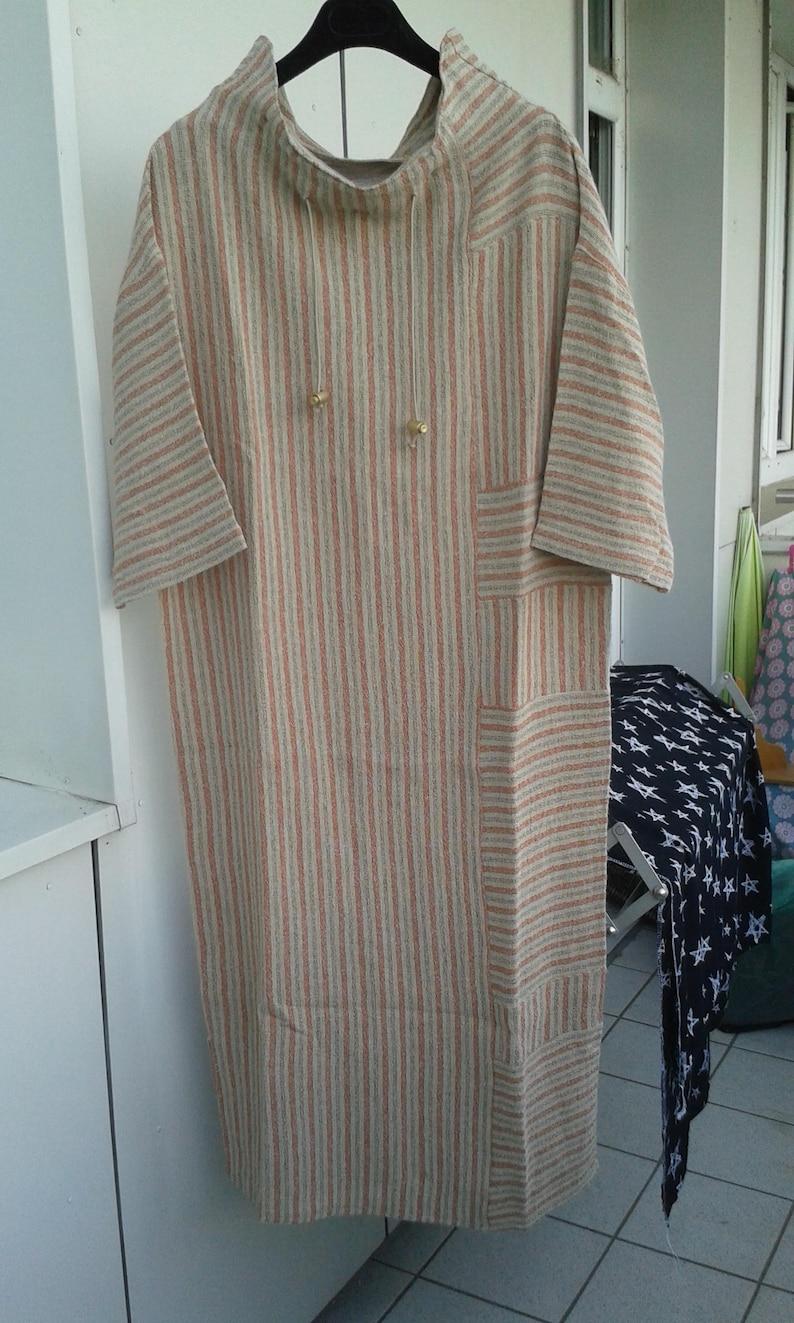s Linen dress Naturerust gr