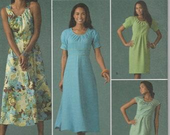 57b79652924c2 Dress Pattern Variations Misses Size 18 - 20 - 22 - 24 - 26 Plus Size Uncut Simplicity  2926 threads Magazine Collection