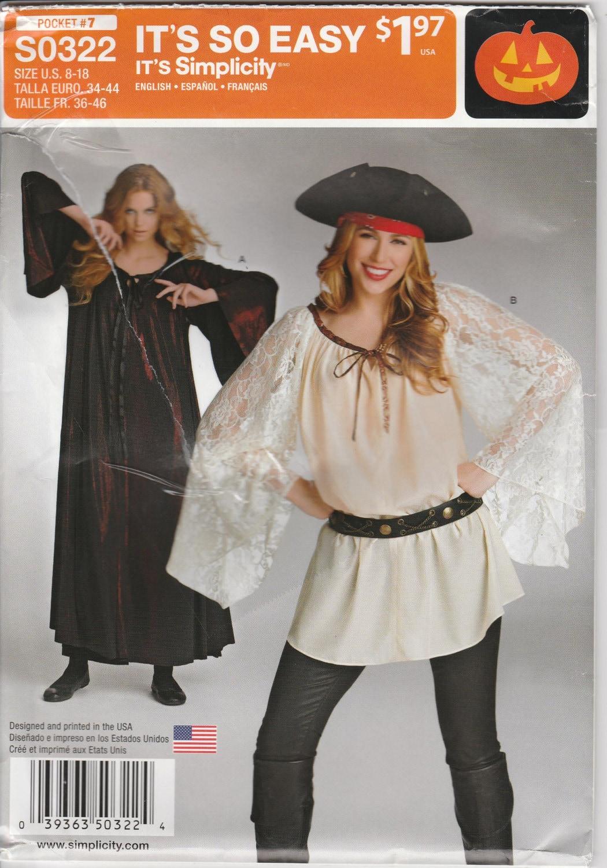 Pirate Costume Pattern Amazing Design