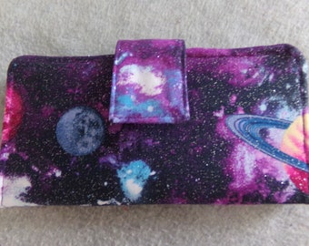 Fabric Wallet - Planets