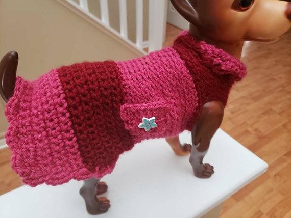 Chihuahua Häkeln Pullover Etsy