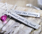 amies pour toujours sterling silver necklace going away gift
