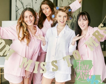 PREORDER Seersucker Ladies Pajama Short Set Button Down Lounge Shirt with Shorts Monogram Gift for Bride Mom Bridesmaids Mom to Be