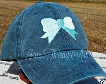 LADIES Bow Baseball Cap Hat Leather Strap Bride Bridesmaid Mom Beach Summer Vacation Group Discount