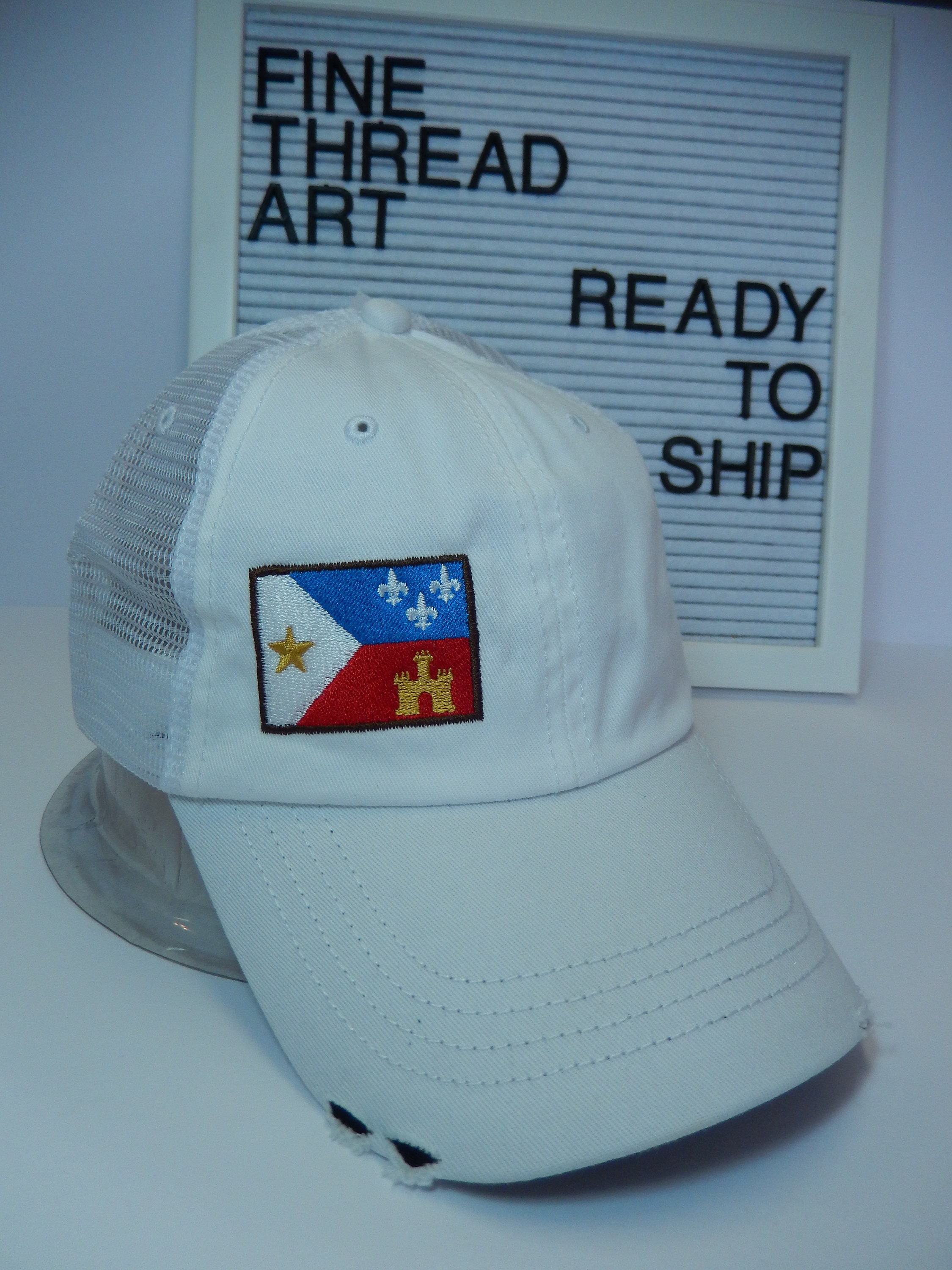 READY TO SHIP adult hat