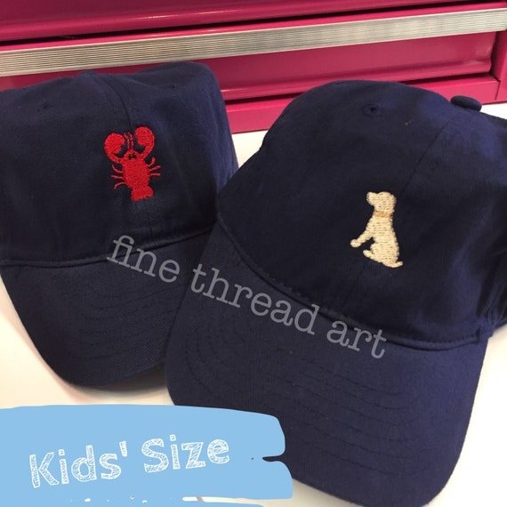 KIDS Mini Design Baseball Cap Hat Fabric Strap Metal Buckle  a165c428823