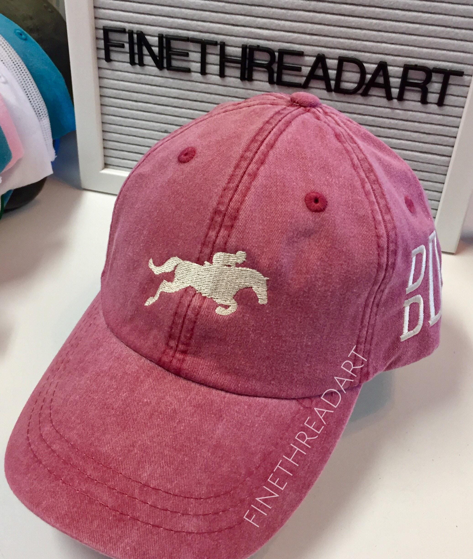 0f22b86ff89 LADIES Equestrian Horse Jumper with Side Monogram Baseball Cap ...