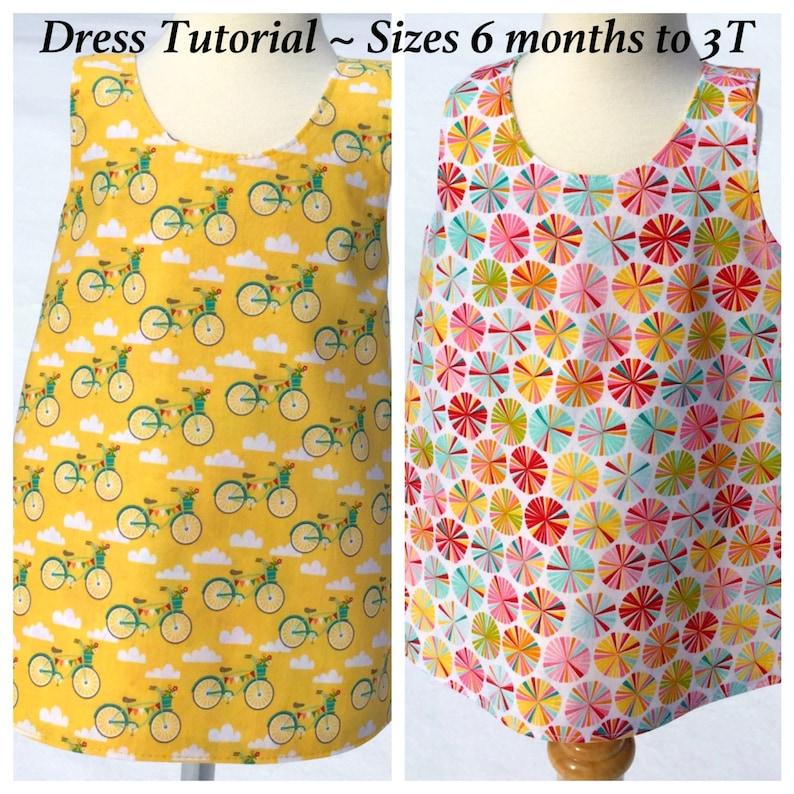 9c3859144 Toddler Dress Pattern Baby Dress Tutorial Crossover