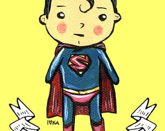 Adorable Superman Print