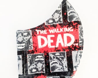 The Walking Dead Grid Face Mask