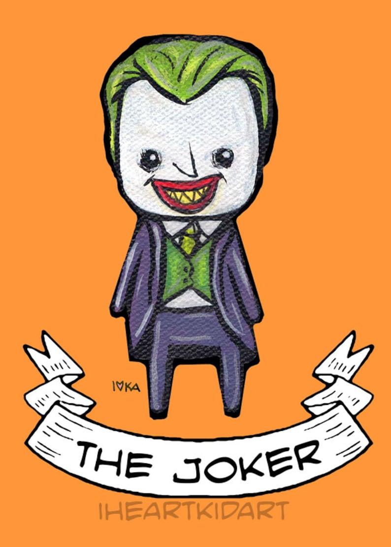 Adorable Joker Print image 0