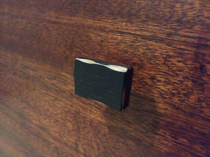 Distressed Wood Cabinet Cabinet Knob-Black-Cabinet Home