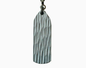 Textured Aluminum Ceiling Fan Chain Pull