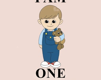 I Am One, Children's Board Book