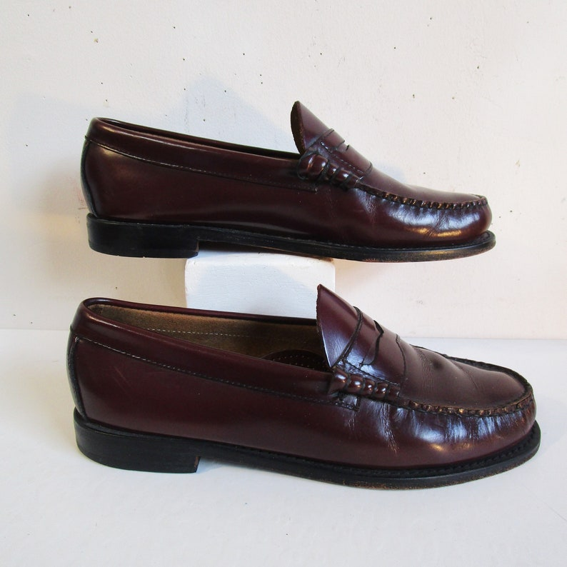 9182789a41c 80s Bass Weejun Penny Loafer Vintage G.H Bass 1980s Preppy