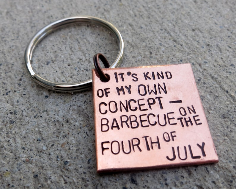 Fourth Of July Barbecue In Your Eyes Movie Quote Etsy